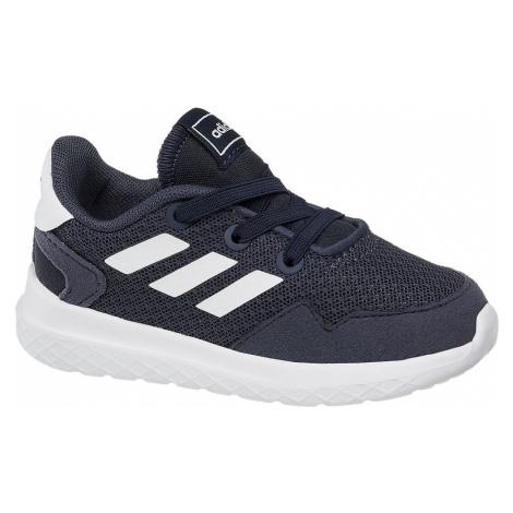 adidas - Tmavomodré detské tenisky Adidas Archivo Inf