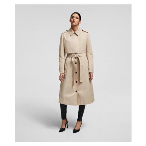 Kabát Karl Lagerfeld Transformer Trench Coat