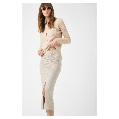 Koton Women's Mink Skirt