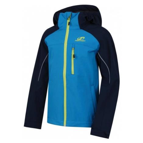 Hannah TRAYNOR modrá - Detská softshellová bunda