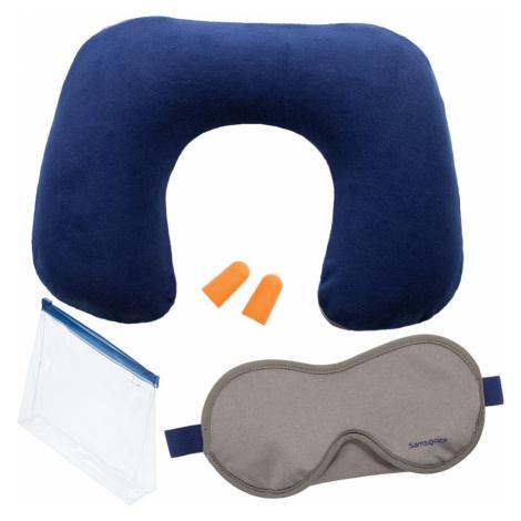 Samsonite Cestovný set V-Inflight Comfort Kit - tmavě modrá