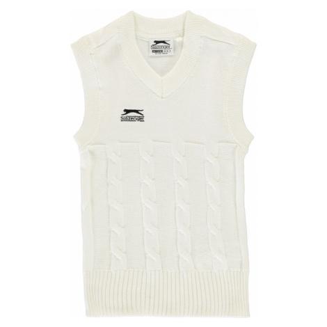 Slazenger Classic Vest Junior White
