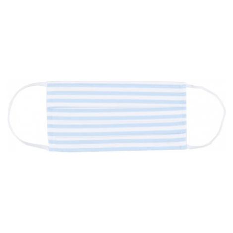 Mey Látkové rúško  modré / biela