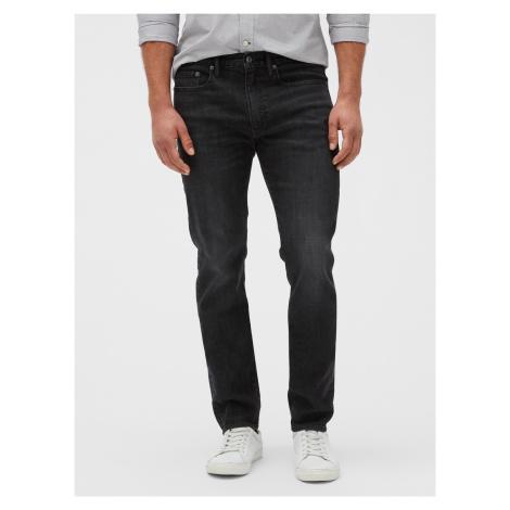 GAP sivé pánske džínsy slim