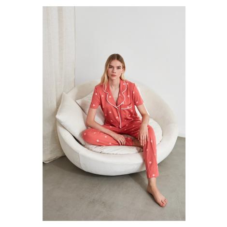 Dámske pyžamo Trendyol Knitted