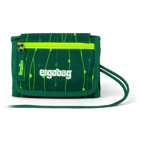 Ergobag Peňaženka Fluo zelená 2020