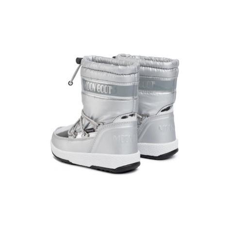 Moon Boot Snehule Girl Soft Wp 34051700003 Strieborná