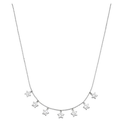 Morellato Oceľový náhrdelník s hviezdičkami Cosmo SAKI05