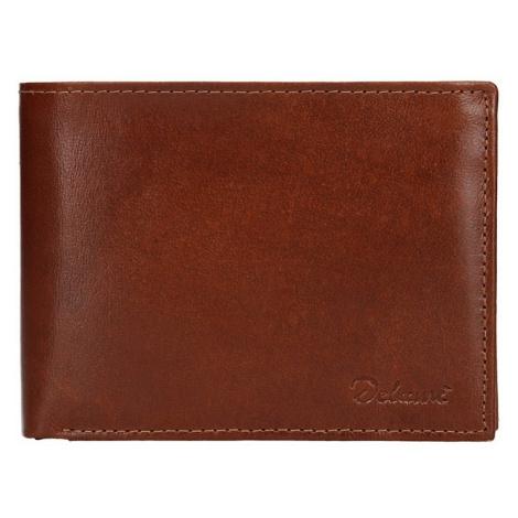 Pánska kožená peňaženka Diviley Ross - koňak