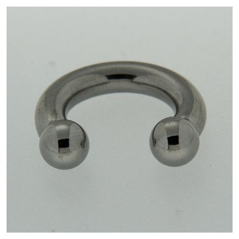 Strieborný piercing 13852