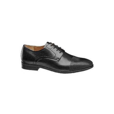 Čierna spoločenská obuv AM SHOE