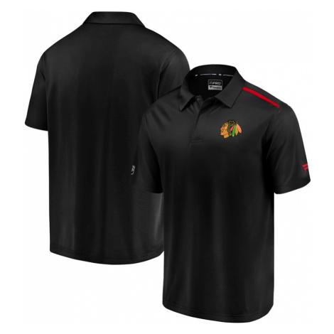 Pánske tričko Fanatics Rinkside Synthetic Polo NHL Chicago Blackhawks