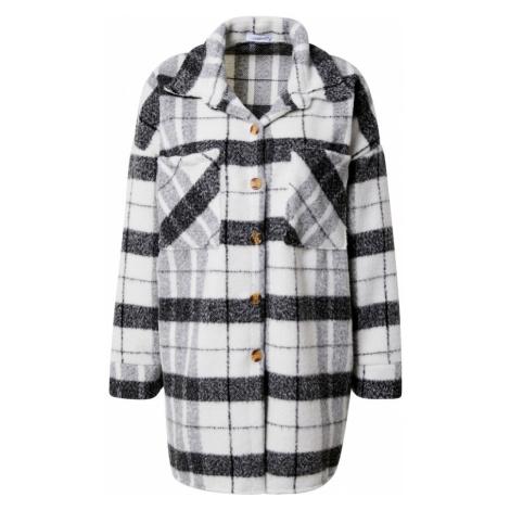 Hailys Prechodný kabát 'Clarissa'  biela / čierna / svetlosivá Haily´s
