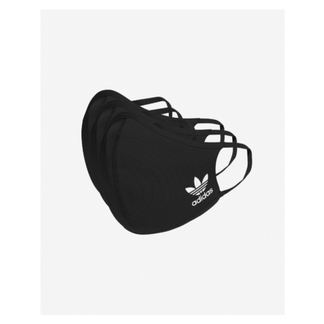 adidas Originals Rúška 3 ks detské Čierna