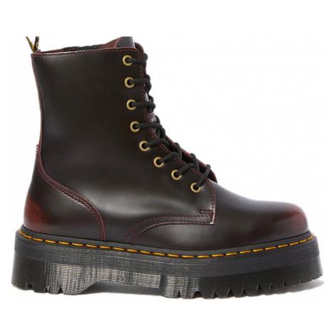 Dr. Martens Jadon Arcadia Leather Platform Boots-7 hnedé DM24764600-7 Dr Martens