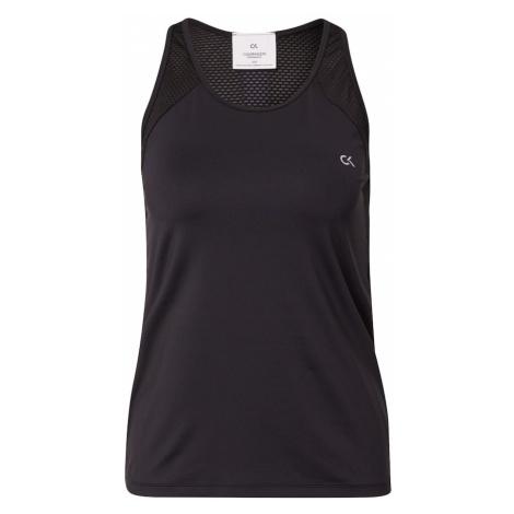 Calvin Klein Performance Športový top  čierna / biela