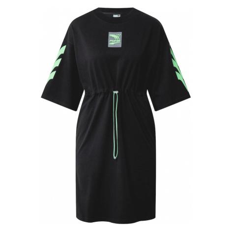 PUMA Šaty 'Evide'  zelená / čierna