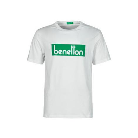 Benetton 3096J17H6-101 Biela United Colors of Benetton