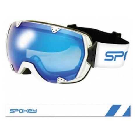 Spokey RED ROCK lyžařské brýle černo-červené