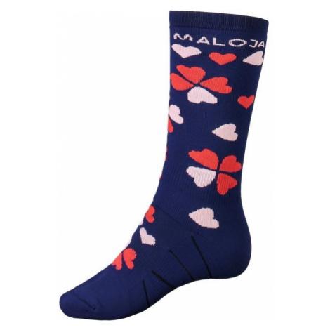 Maloja VIAMALAM modrá - Multišportové ponožky