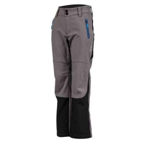Lewro DAYK sivá - Detské softshellové nohavice