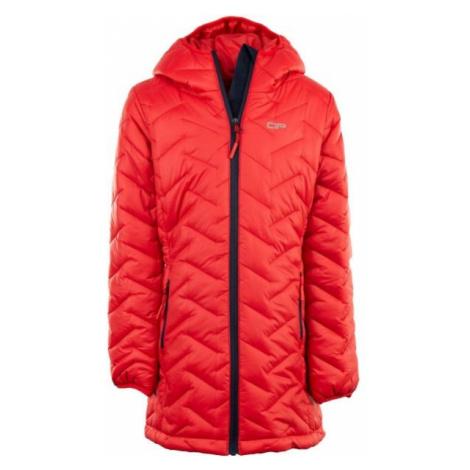 ALPINE PRO EASO 2 červená - Detský kabát
