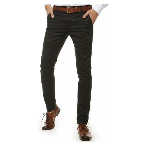 Senzačné grafitové elegantné nohavice DStreet