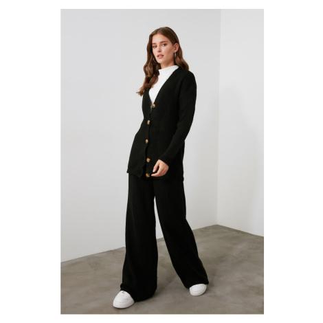 Trendyol Knitwear Pants with Elasticed Black Back