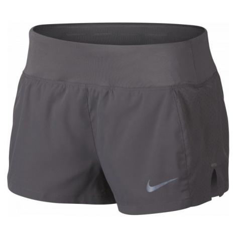 Nike ECLIPSE 3IN SHORT W sivá - Dámske bežecké šortky