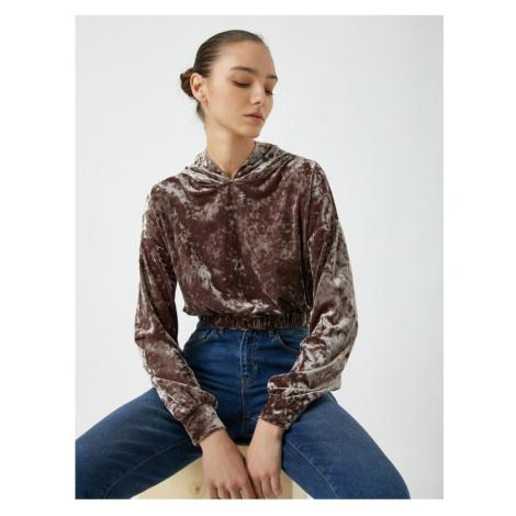 Koton Women's Brown Sweatshirt