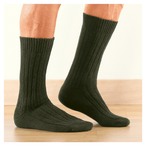 Blancheporte Pracovné ponožky Labonal, sada 2 páry khaki