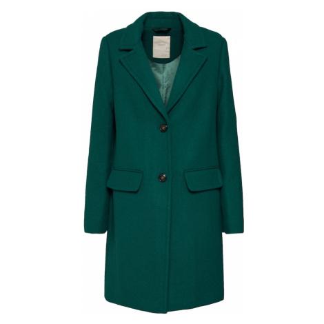 ESPRIT Prechodný kabát  tmavozelená