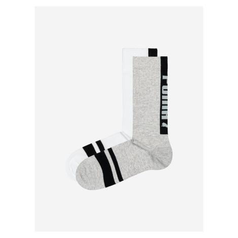 Ponožky 2 páry Puma Biela