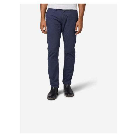 Chino kalhoty Tom Tailor Modrá