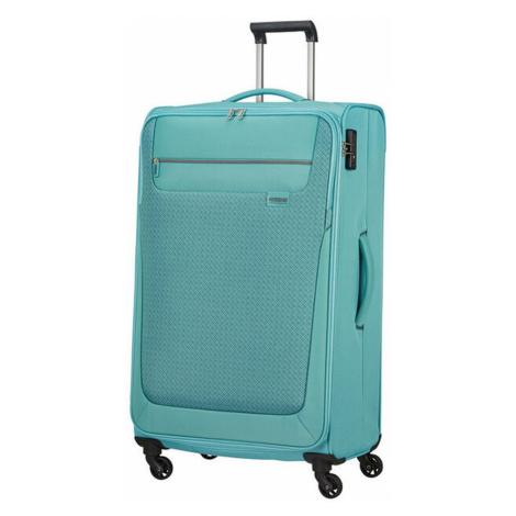 American Tourister Látkový cestovný kufor Sunny South L 103 l - světle modrá