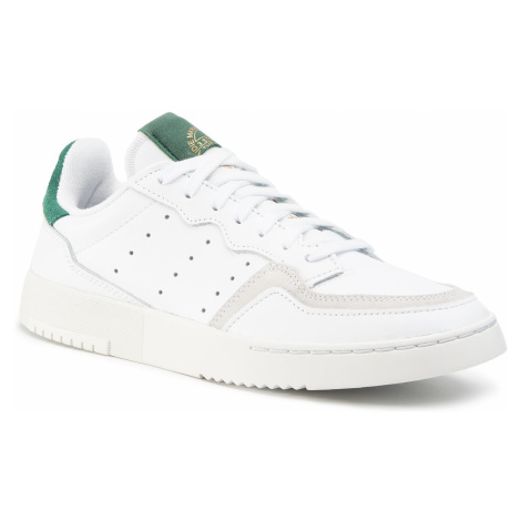 Topánky adidas - Supercourt EF5884 Ftwwht/Ftwwht/Cgreen