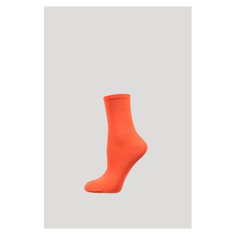 Silonové ponožky Micro 50 DEN coral