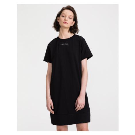 Calvin Klein Nočná košeľa Čierna
