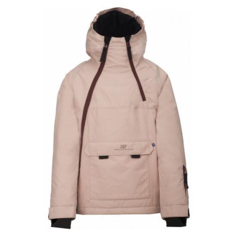 2117 LILLHEM ružová - Detská lyžiarska bunda