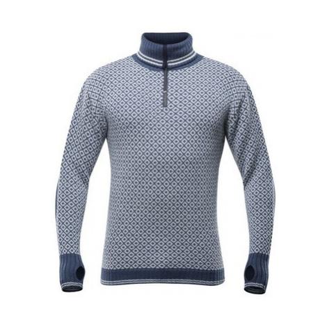 Sveter Devold Slogen sweater zips neck TC 750 410 A 287A