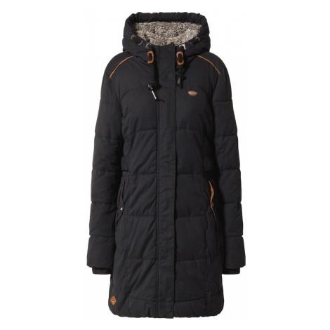 Ragwear Zimný kabát 'Mershel'  čierna