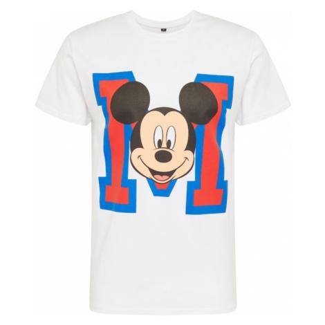 Mister Tee Tričko 'Mickey Mouse'  biela / zmiešané farby