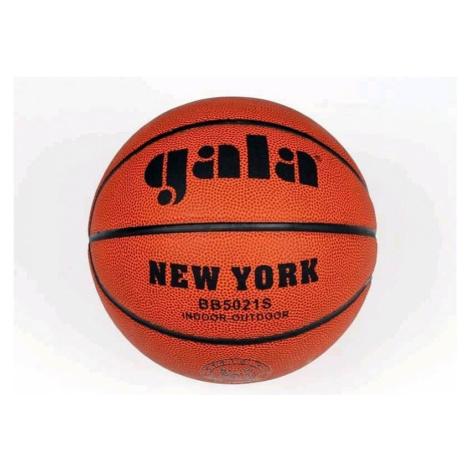 Míč basket NEW YORK BB5021S - hnědá
