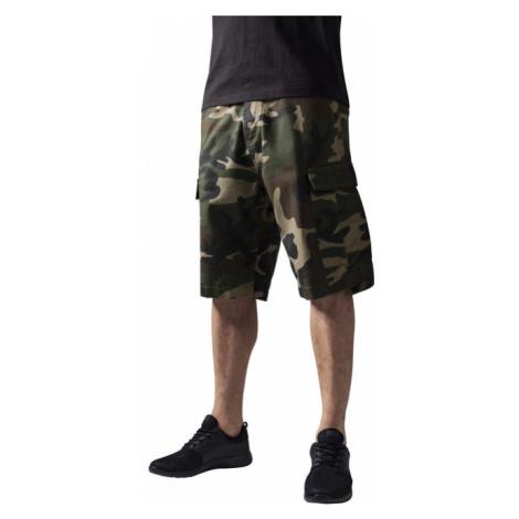 Urban Classics Camouflage Cargo Shorts wood camo - Veľkosť:36