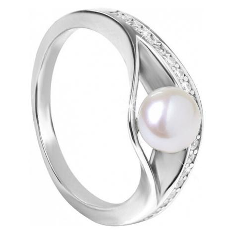 Silver Cat Strieborný prsteň s perlou SC296 mm