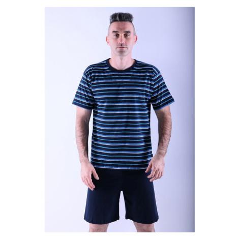 Pánske pyžamo Various prúžkované Cornette