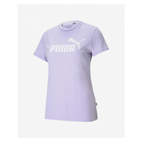 Puma Amplified Graphic Tričko Fialová