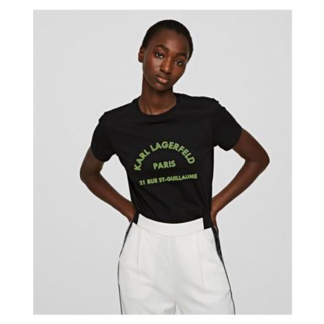 Tričko Karl Lagerfeld Address Logo T-Shirt