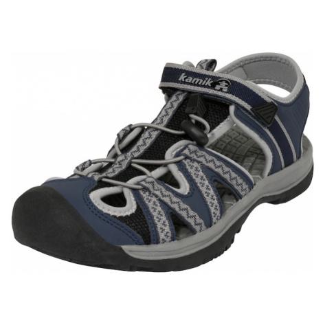 Kamik Sandále 'ISLANDER2'  námornícka modrá / sivá