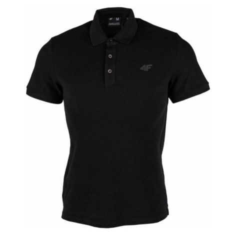4F MEN´S T-SHIRTS čierna - Pánske tričko